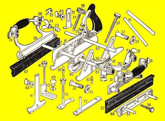 Stanley Basic Plane Parts