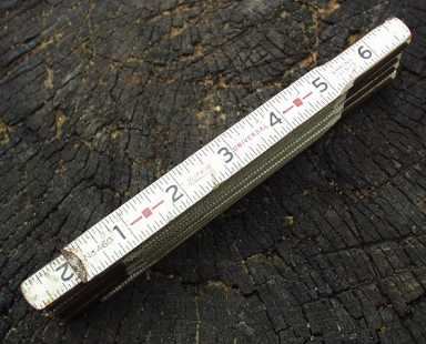 Lufkin 6' Universal Folding Ruler Inches 460